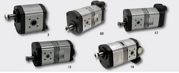 CS 78 86 94 Doppel Hydraulikpumpe BOSCH 0510665381 für Case IH//IHC C 55 64 70