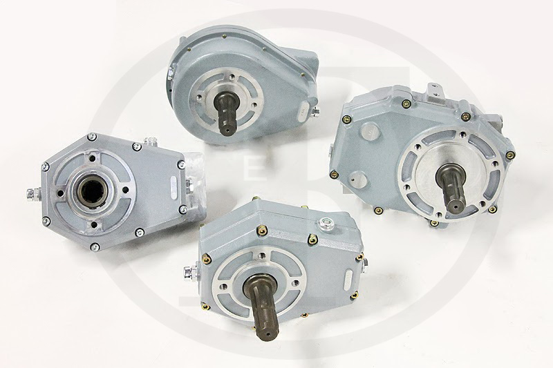 Speed reducers are used for connecting Orbital motors as Danfoss on earth-moving machines, winches, windlasses and agricultural machines for tomatoes and beets collection.